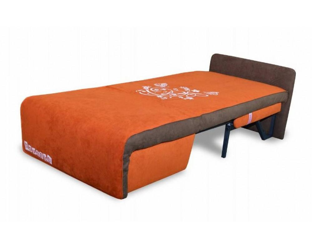 Кресло кровать с металлическим основанием