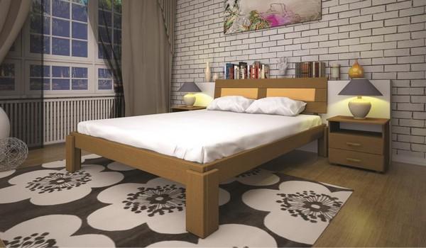 Кровать из тиса