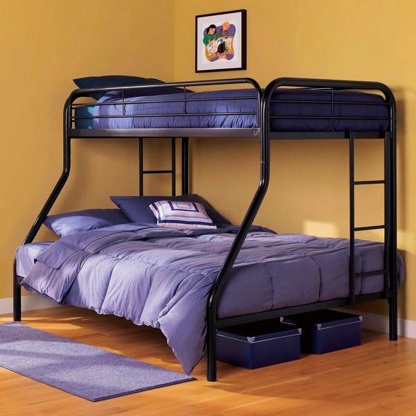 Металлическая кровать для взрослых