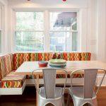 Кухонный диван в стиле этно