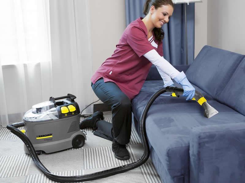 Профессиональный моющий пылесос для мебели