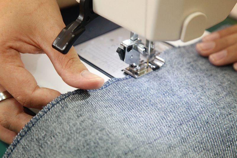 Детали сшиваем