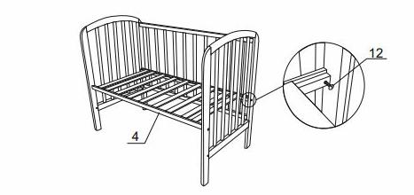 собрать детскую кроватку