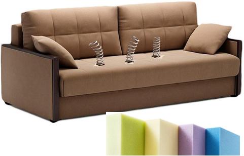 замена полорона в диване