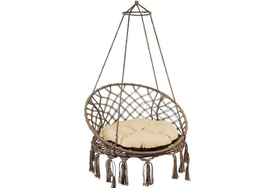 Подвесное кресло-кокон: как сделать своими руками плетеное,пошаговая инструкция
