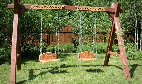 Садовые качели из дерева своими руками для дачи – всё, что вы хотели знать!