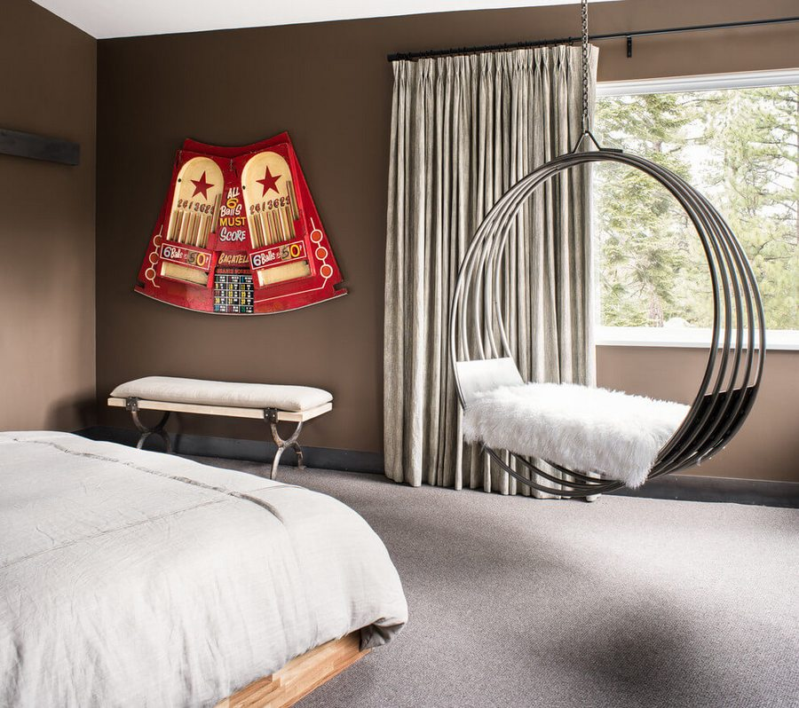 Кресла подвесные оригинальное обустройство места для отдыха