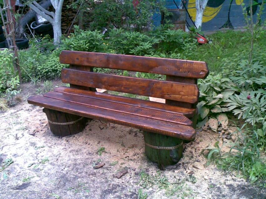 Ножки для скамейки своими руками