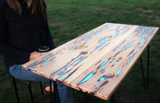 Стол из слэба дерева своими руками