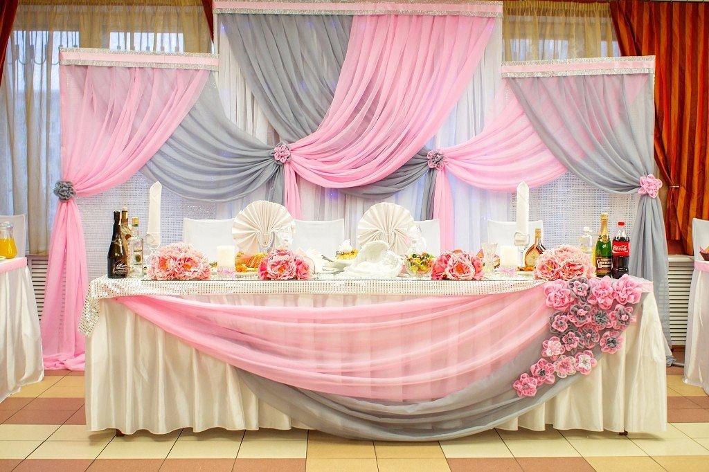 Стол молодоженовкак украсить декор для украшения столов на свадьбе