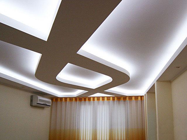 Особенности конструкции парящего натяжного потолка