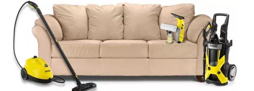 Где заказать и цена химчистки дивана на дому от компании