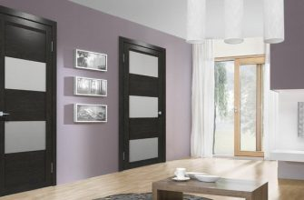Как выбрать двери для интерьера в стиле модерн