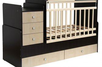 Цены на детские кровати с комодом