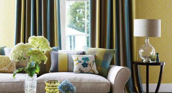 Как правильно сочетать цвет обоев с мебелью
