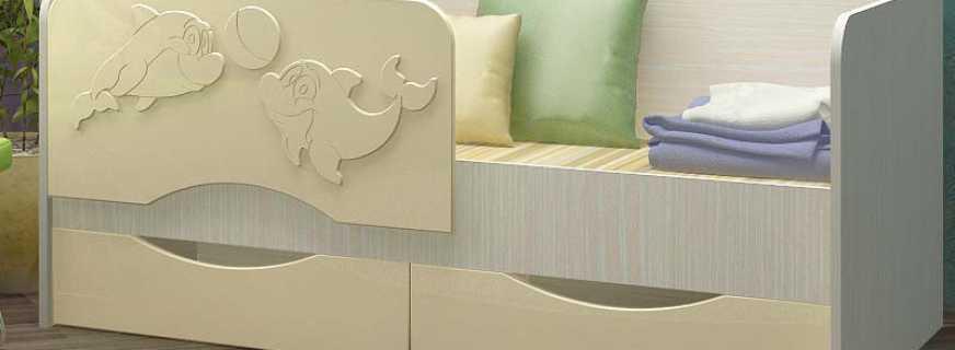 Детская кровать дельфин, характеристики и критерии правильного выбора