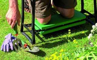 Как своими руками сделать универсальную скамейку для огорода и сада
