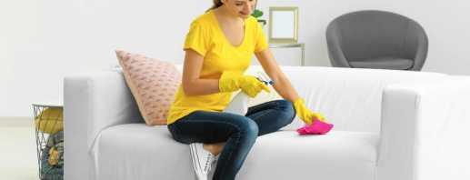 Как быстро и эффективно почистить диван в домашних условиях, советы
