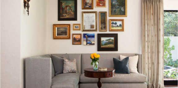 Как спрятать пустой угол в гостиной