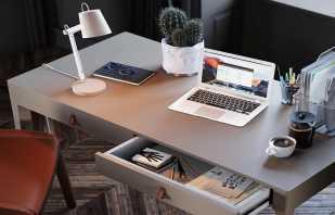 Разнообразие столешниц для письменного стола, их особенности