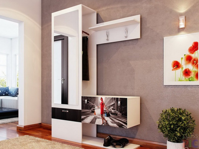 Дизайны прихожей мебели