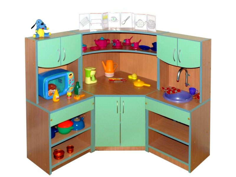Игровая мебель для детского сада, ее существующие варианты