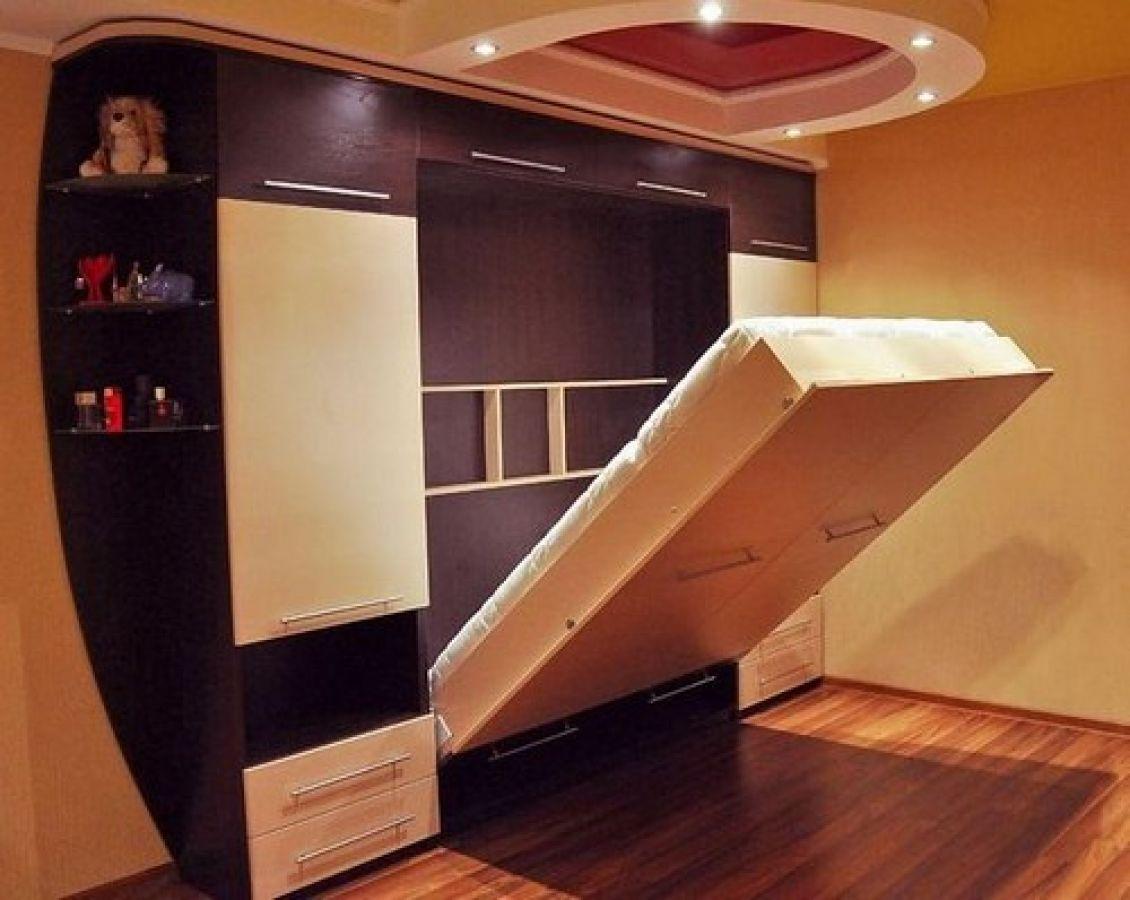 Своими руками кровать встроенная в шкаф