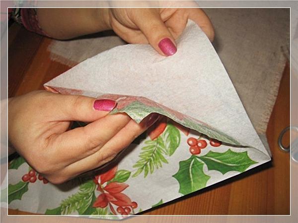 Декупаж на ткани для начинающих пошагово