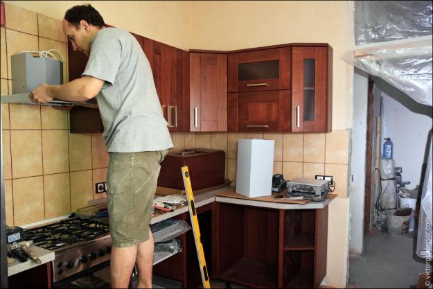 Кухни фото делать своими руками 5