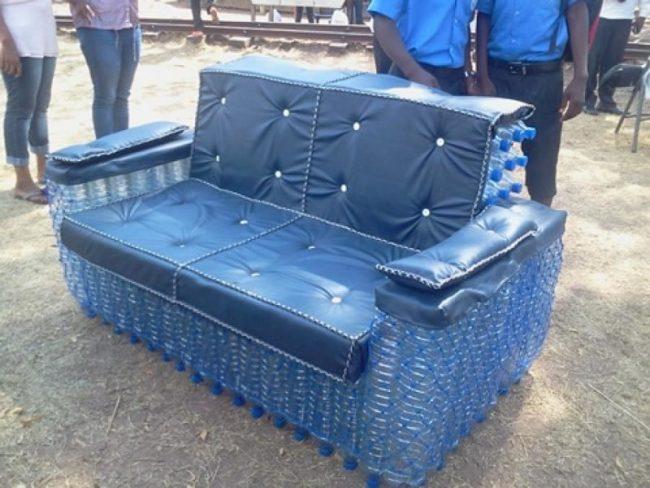 Мебель своими руками из пластиковых бутылок