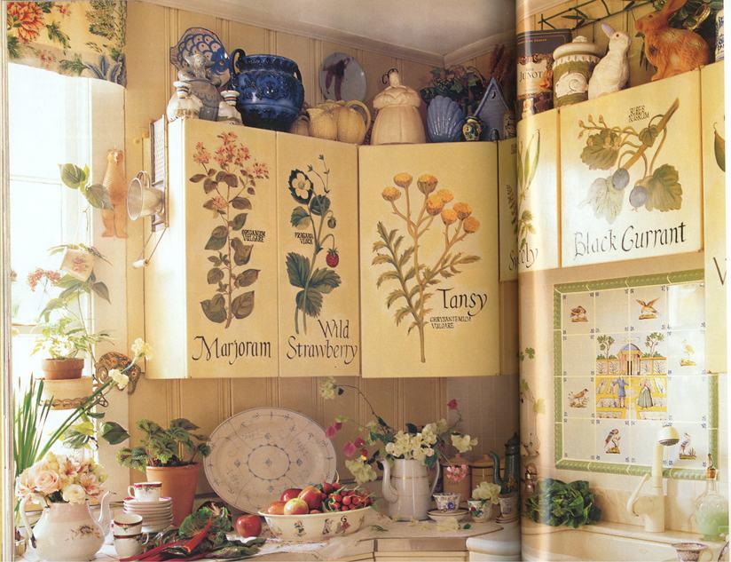 Украсить кухонную мебель своими руками 91