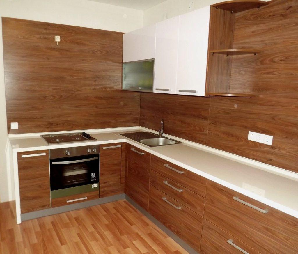 Кухонный гарнитур из мебельных щитов своими руками 50