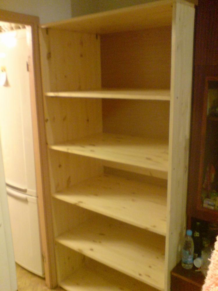 Как собрать шкаф из мебельных щитов