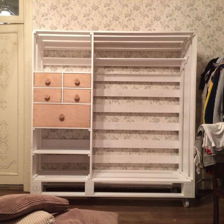 Модный шкаф своими руками 54