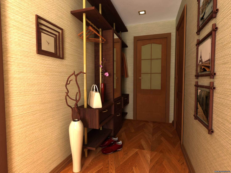 Дизайн коридоров и прихожих в маленькой квартире