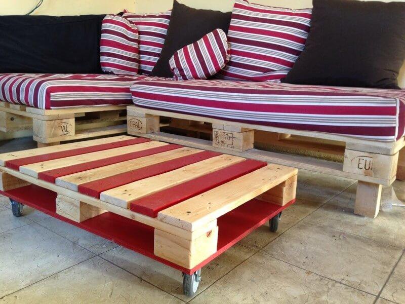 Мебель из поддонов пошагово