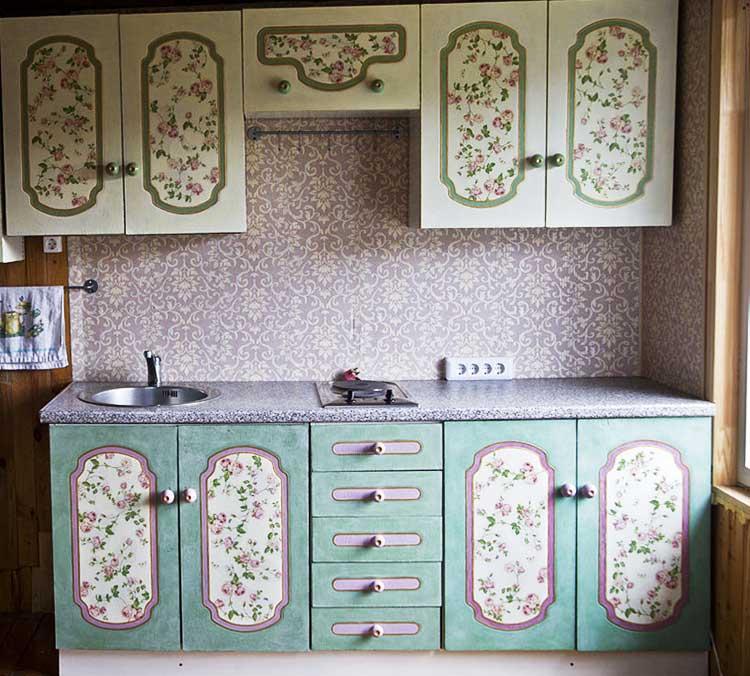 Переделываем кухонный гарнитур своими руками