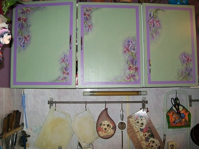 Кухонные шкафчики своими руками фото