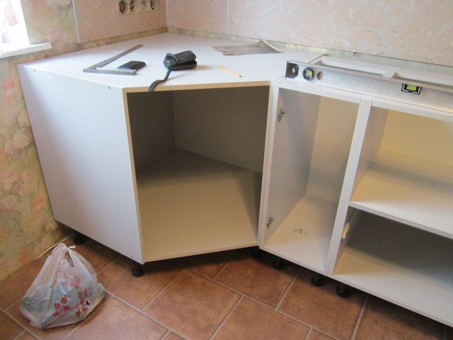 Кухонный угловой гарнитур своими руками