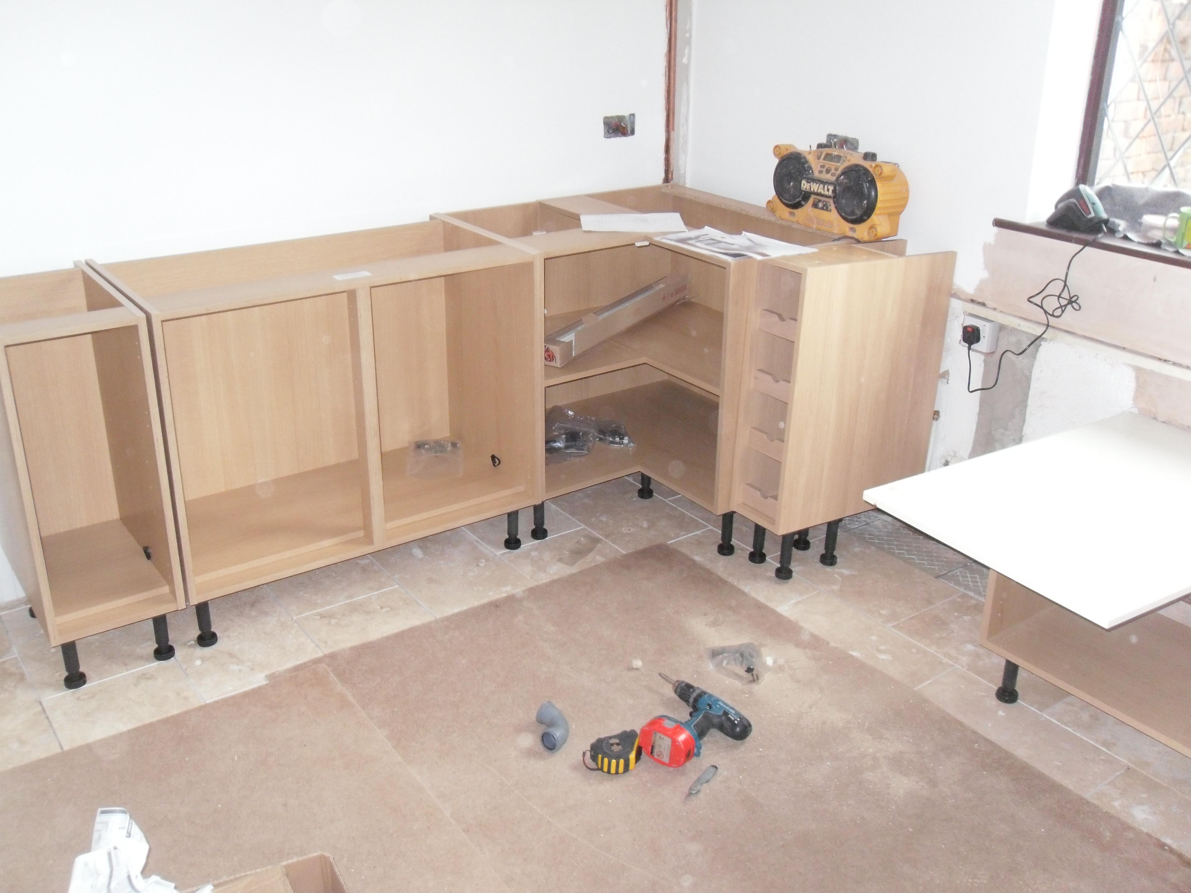 Навесной шкаф-стол своими руками