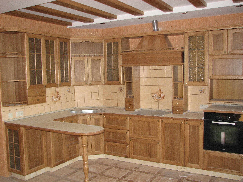 Изготовление кухни из дерева своими руками