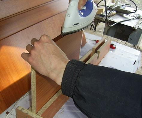 Сделать мебельную кромку своими руками из