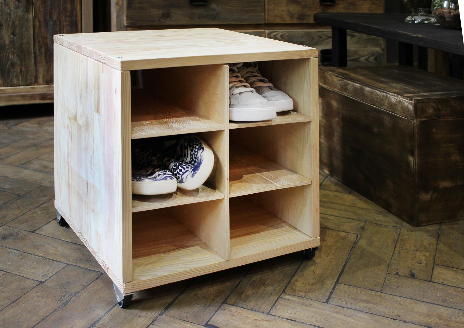 Сделать своими руками тумбу для обуви