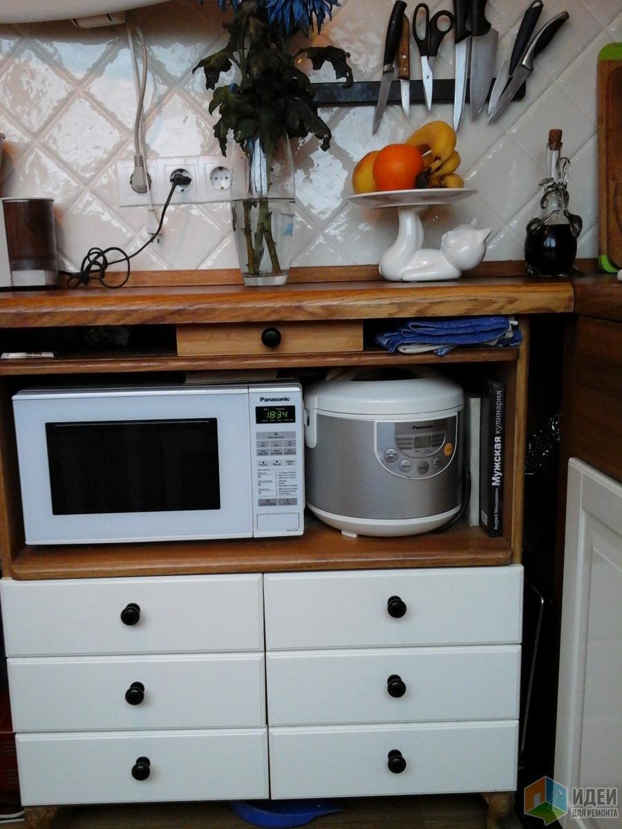 Комод на кухню своими руками фото