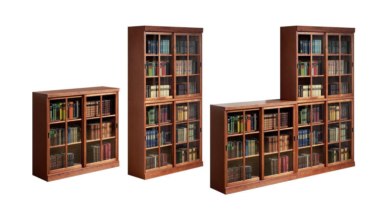 Книжный шкаф-библиотека своими руками 4