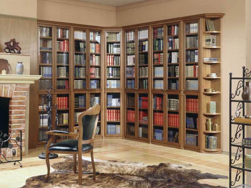 Дизайн книжных шкафов