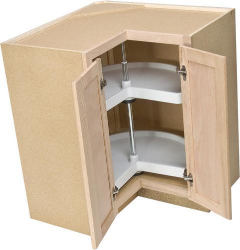 Кухонный угловой напольный шкаф