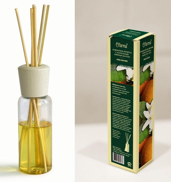 Жидкий ароматизатор с палочками