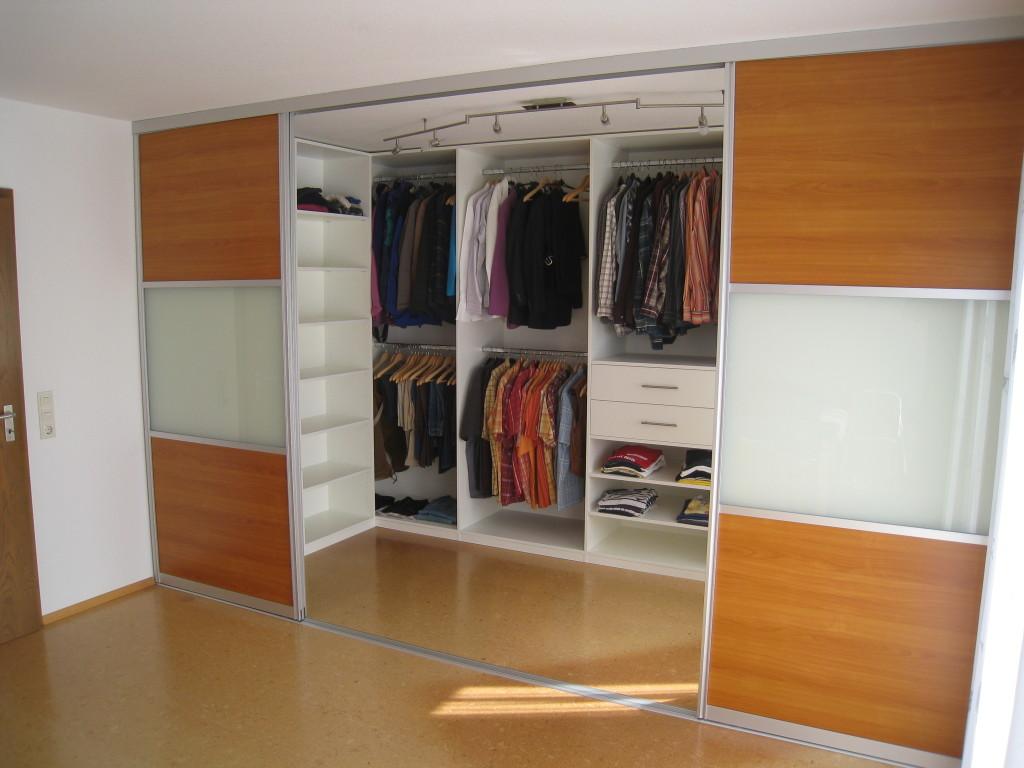 Купе гардеробная