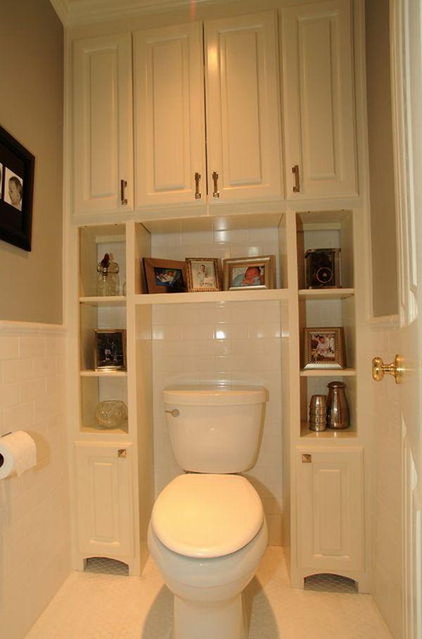 Интерьер в туалете своими руками 88